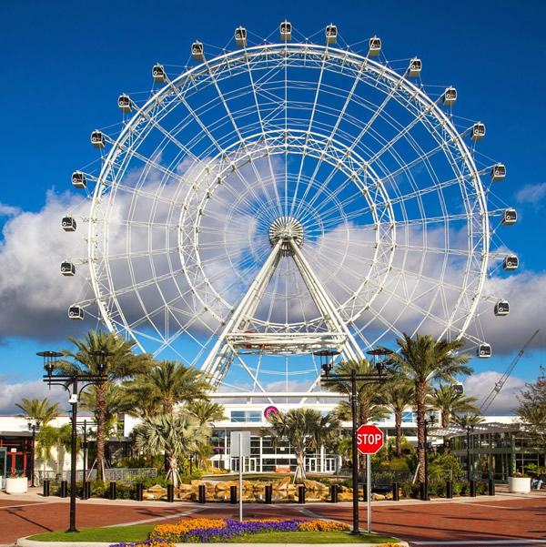 O I-Drive 360 oferece diversas atividades além da Orlando Eye!