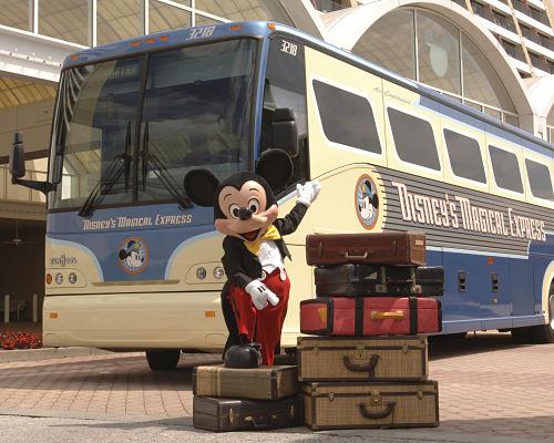 Chegar em Orlando e já começar a viagem no Magical Express é muito bacana! | (c) Disney