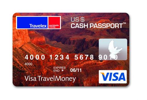 cartão pré-pago da Cash Passport