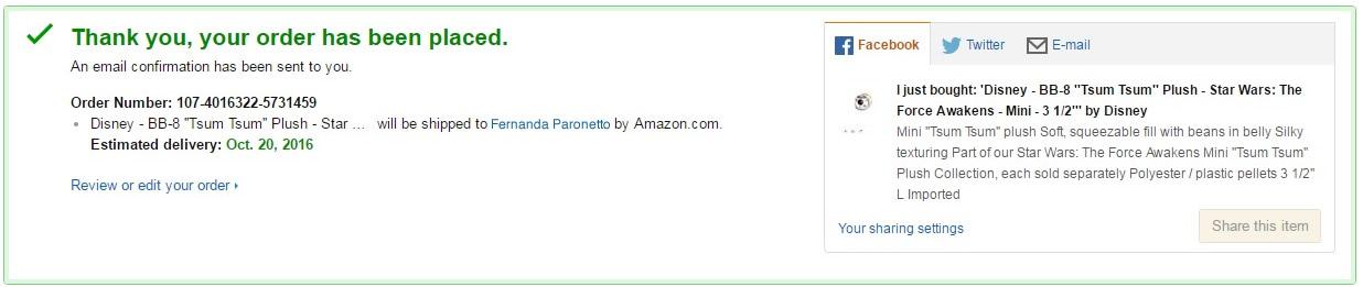 sua compra foi realizada! agora corre pro seu e-mail pra ver a confirmação! :D