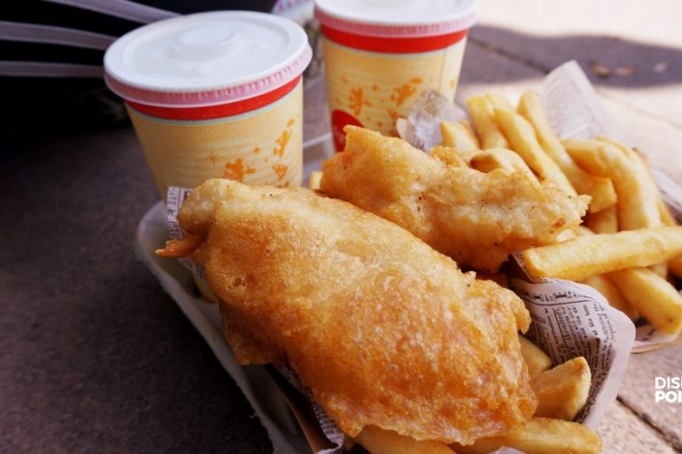 Disney Point Epcot Fish Chips 2
