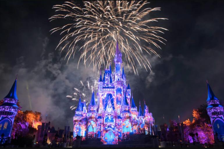Disney Point Roteiro Grátis Magic Kingdom Happily Fogos
