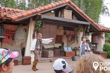 Disney Point Roteiro Grátis Magic Kingdom Show Jack Sparrow