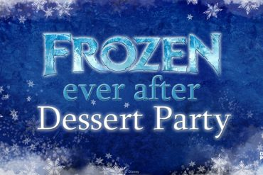 Disney Point Frozen Dessert Party