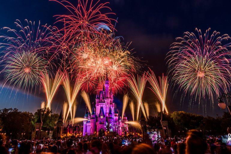Disney Point Magic Kingdom 4 de Julho