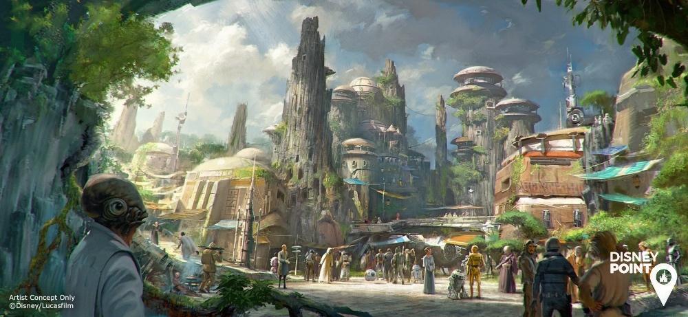 Disney Point Roteiro Studios Star Wars Land