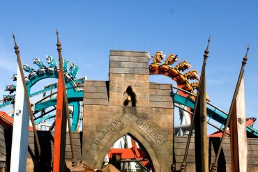 Disney Point Harry Potter Dragon Challenge