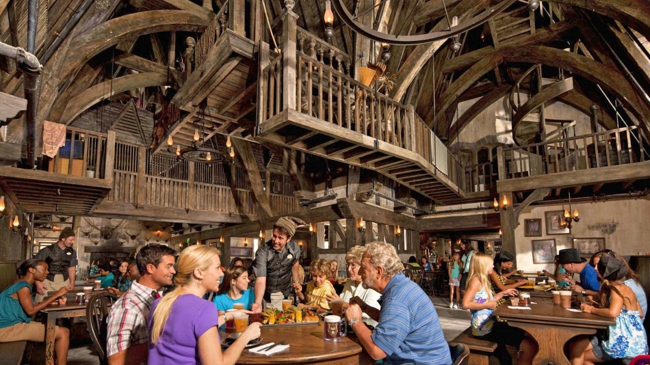 Comer no Três Vassouras Harry Potter Orlando