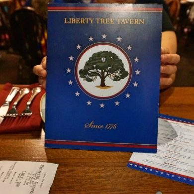 Disney Point Magic Kingdom Liberty Tree Tavern Menu