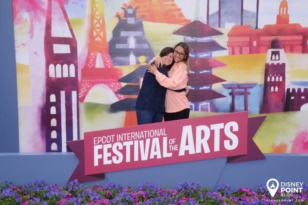 Disney Point Epcot Festival of the Arts Paineis de Foto 3