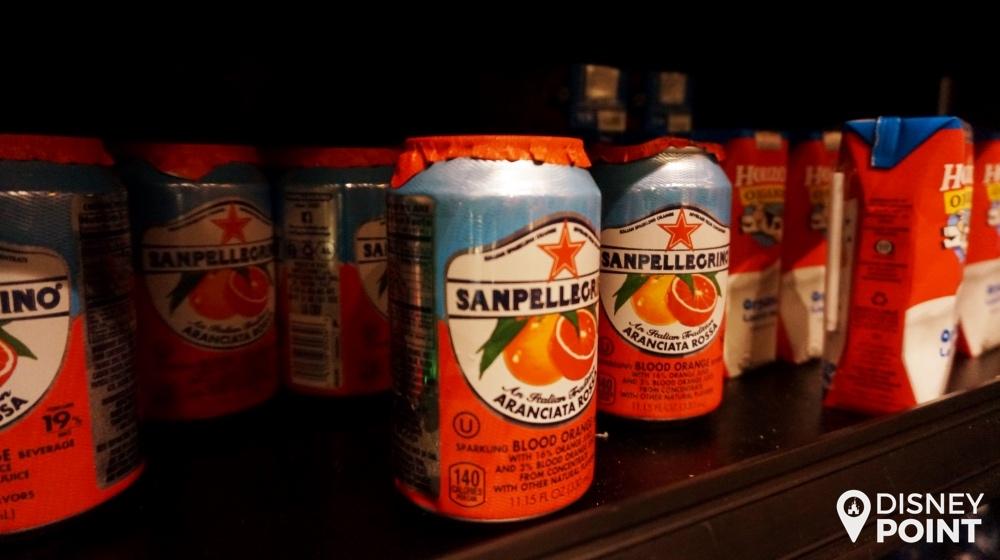 Blood Orange, uma das opções mais diferentes de bebida que a gente não vê sempre pela Disney.