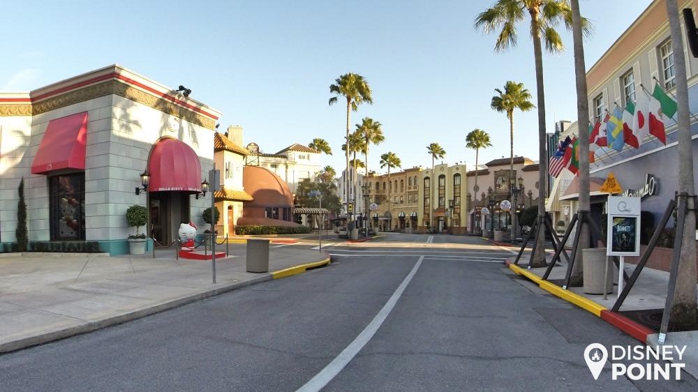 Área Hollywood, a última área dessa visita