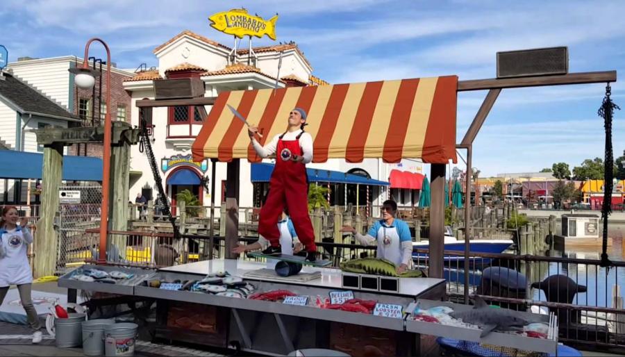 Disney Point Roteiro Universal Studios Flying Fish