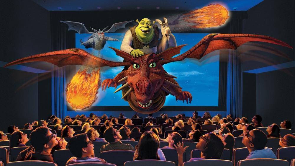 Shrek 4D, uma aventura com os personagens do filme