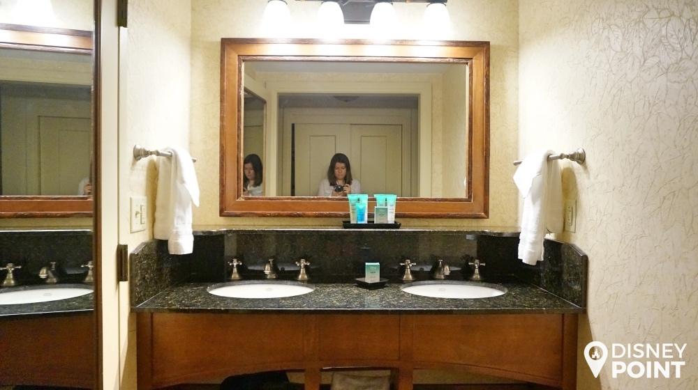 Disney Point Wilderness Lodge Banheiro 1