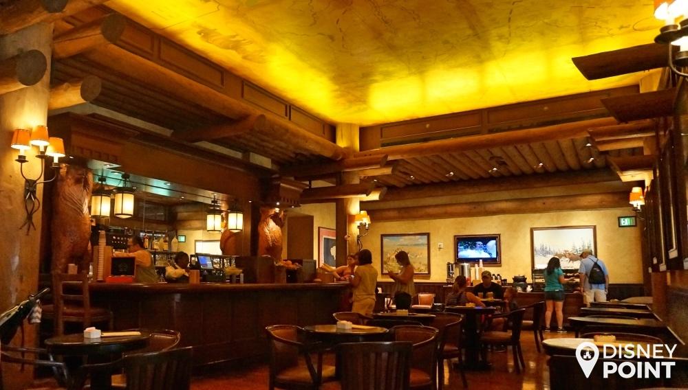 Disney Point Wilderness Lodge Bar