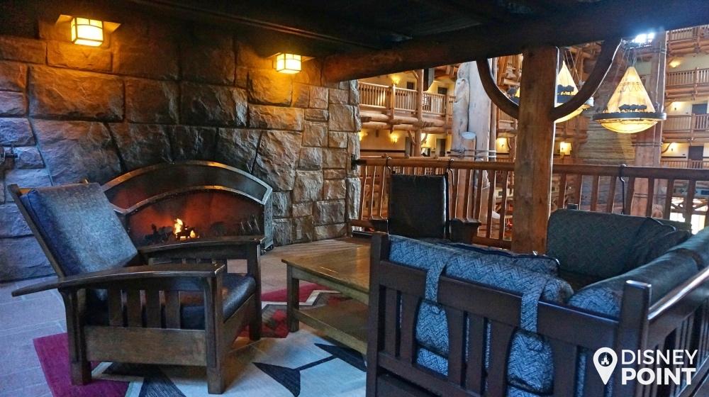 Disney Point Wilderness Lodge Decoração
