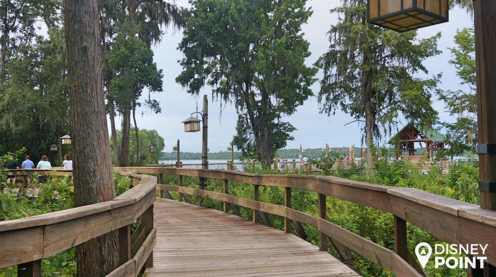Disney Point Wilderness Lodge Externo 2