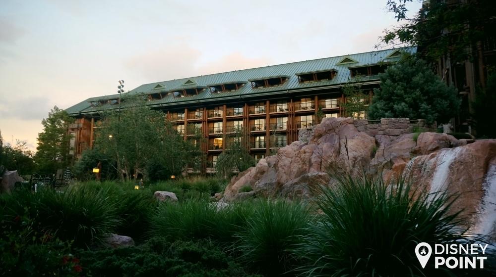 Disney Point Wilderness Lodge Externo 5