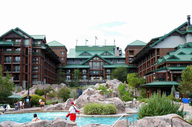 Disney Point Wilderness Lodge Piscina