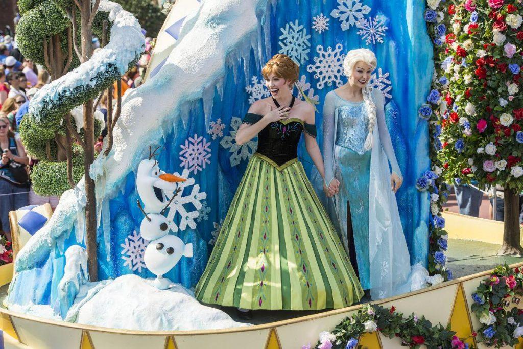 Disney Point Guia Frozen Anna Elsa Festival of Fantasy Magic Kingdom