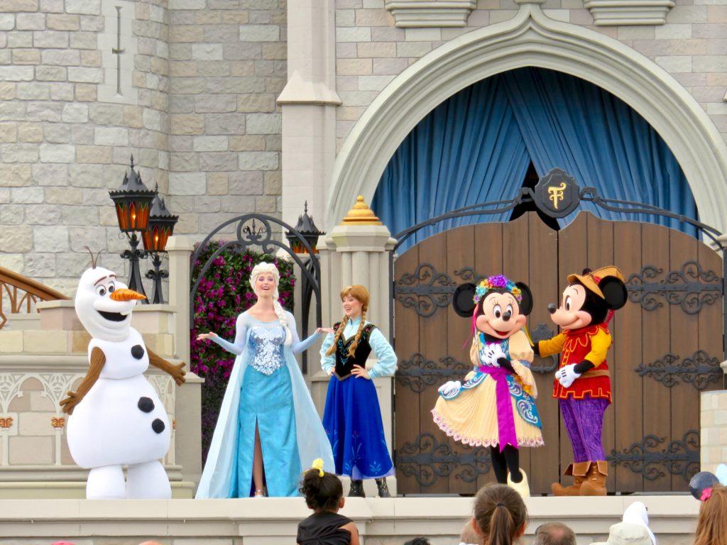 Disney Point Guia Frozen Mickey Faire