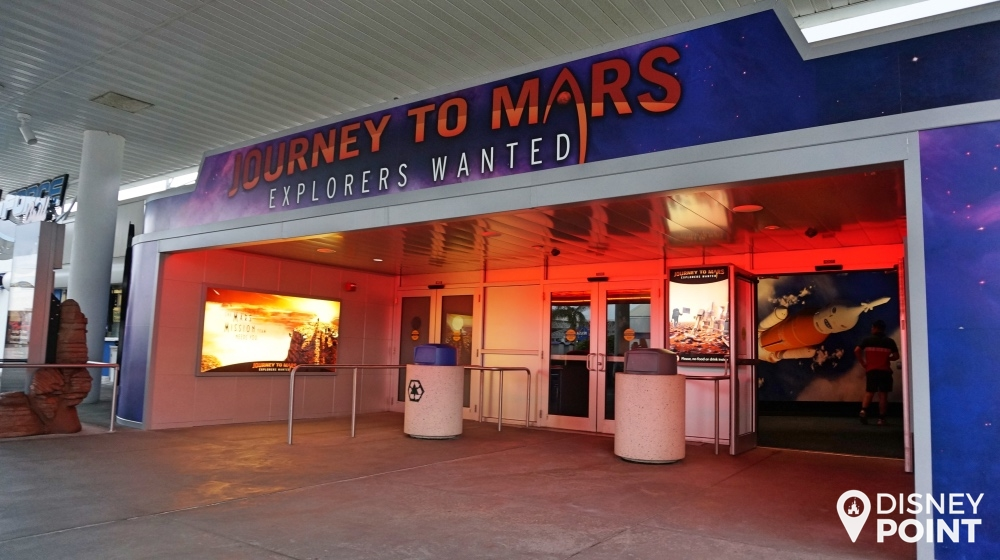 Disney Point Kennedy Space Center NASA Roteiro Journey to Mars