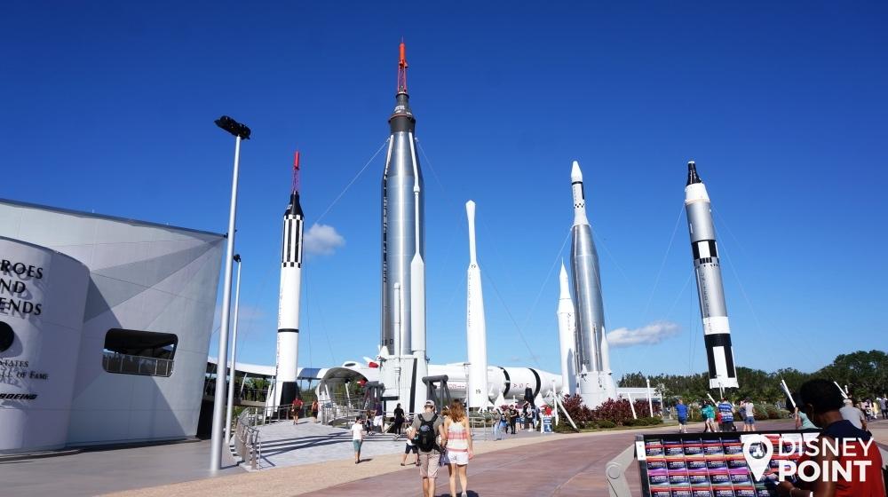Rocket Garden: um dos melhores locais para fotos no parque!