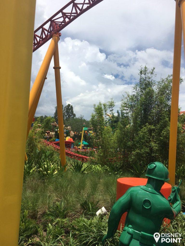 Disney Point Toy Story Land Imersão Soldados