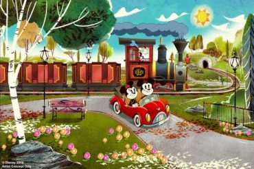 Disney Point Hollywood Studios Mickey & Minnie's Runaway Railway