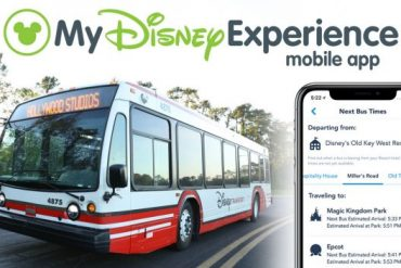 Disney Point My Disney Experience Ônibus