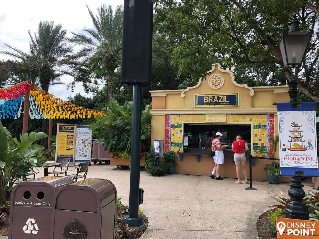 Disney Point Epcot Food & Wine Brasil