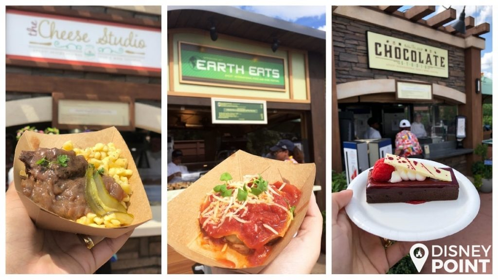 Disney Point Epcot Food & Wine Comidas Future World-min