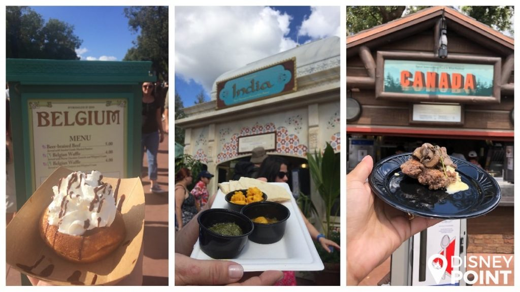 Disney Point Epcot Food & Wine Comidas Paises-min