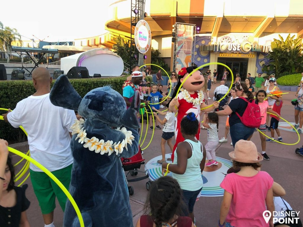 Disney Point Epcot Food & Wine Dance Party