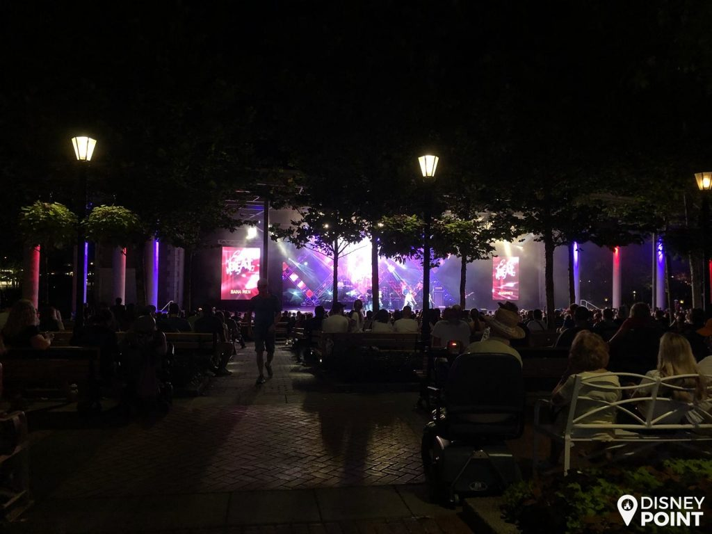 Disney Point Epcot Food & Wine Eat to the Beat Shows