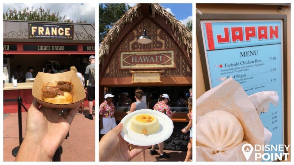 Disney Point Epcot Food & Wine Festival Comidas-min