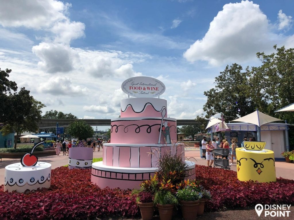 Disney Point Epcot Food & Wine Fotos