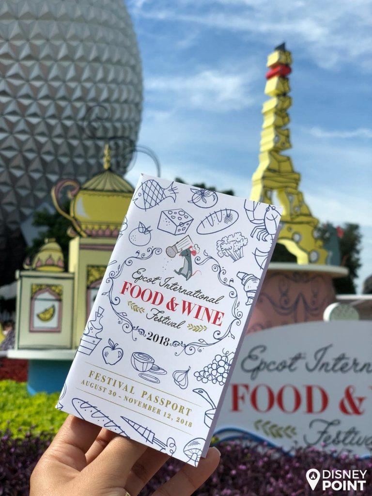 Disney Point Epcot Food & Wine Passaporte