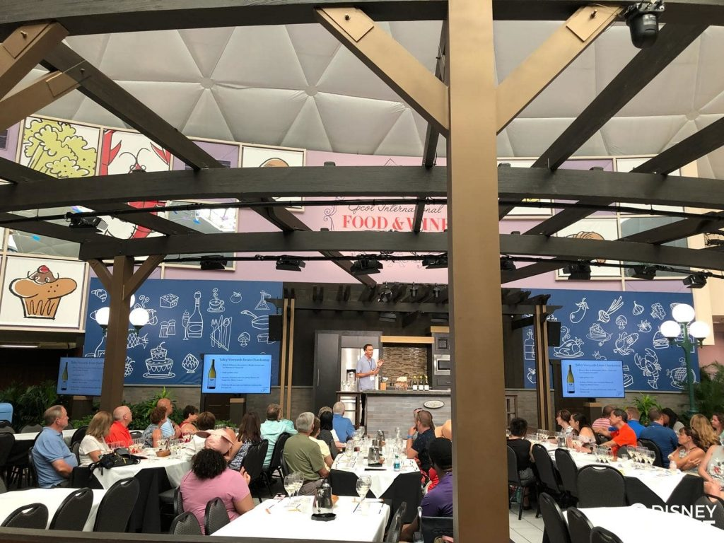 Disney Point Epcot Food & Wine Seminários