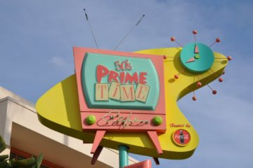 Disney Point Hollywood Studios 50's Prime Time Café