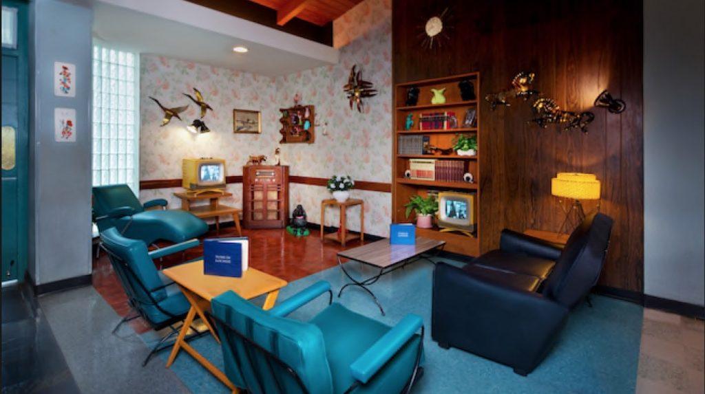 Disney Point Hollywood Studios 50's Prime Time Café Sala de Espera