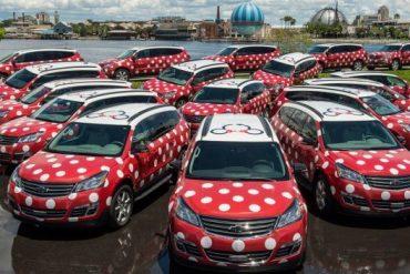 Disney Point Minnie Van em todo o resort