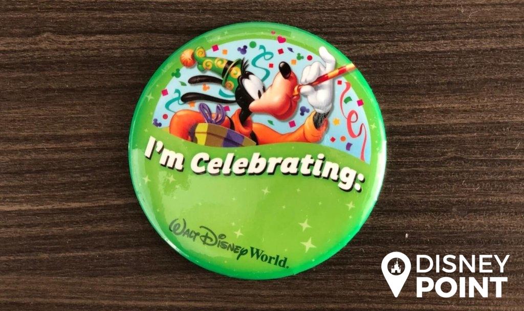 Disney Point Button Grátis Disney Celebração-min