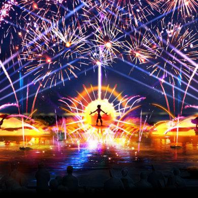 Disney Point Epcot Show Fogos 2020