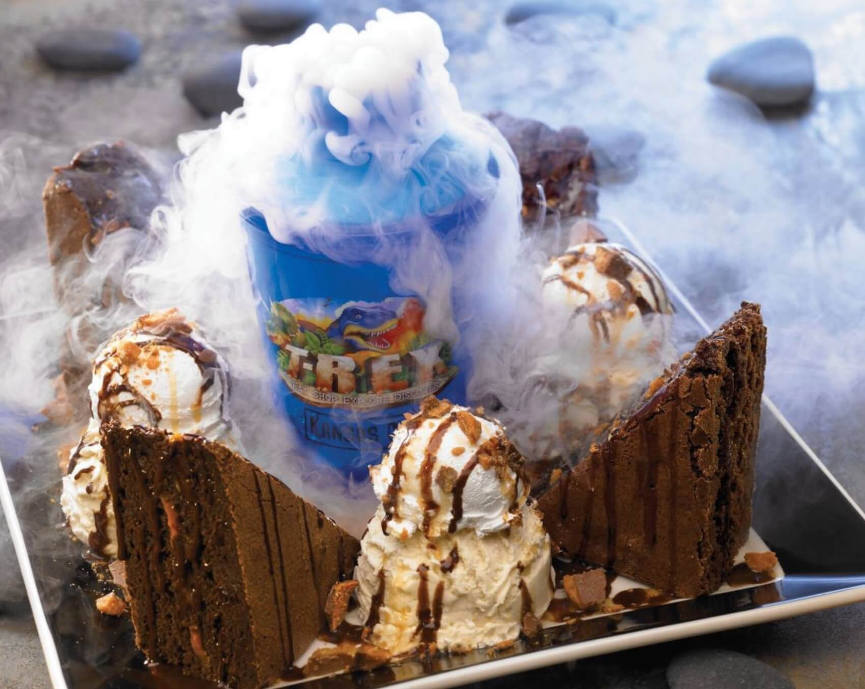 Disney Point T-Rex Dinossauros Springs Chocolate Extinction-min