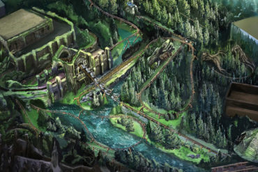 Disney Point Harry Potter Hagrid Montanha Russa